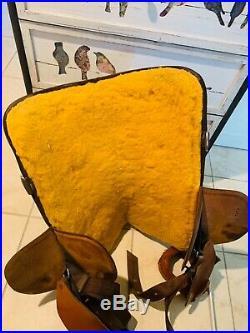 Bob Marshall Treeless Saddle