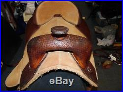 Bob Marshall Treeless Saddle 15.5 seat Circle Y