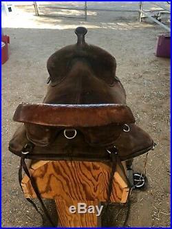 Bob Marshall Treeless Saddle 16