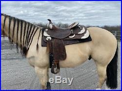 Bob's Custom Reining Saddle