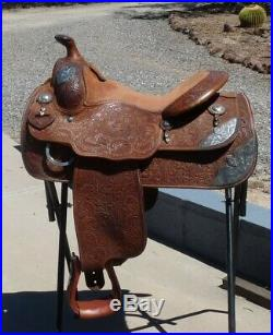 Bob's Custom Show Saddle 15.5