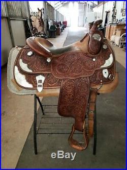 Bob's Custom Western Reining And Show Saddle