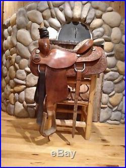 Bona Allen rope saddle 16seat