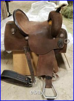 Brittany Pozzi Barrel Saddle