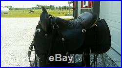 Brown 16.5 inch Tucker Saddle
