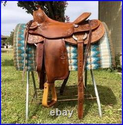 Bruce Cheaney Saddle 15.5
