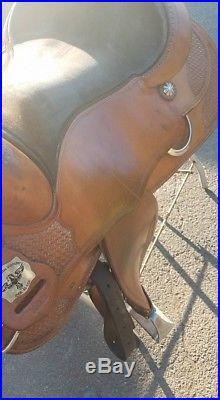 C92 Continental Reining Saddle