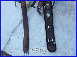 COATS Western Cutting Horse Saddle 15