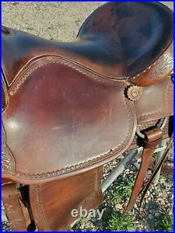 CRATES 15 1/2 inch Western SHOW EQUITATION TRAIL Western Dressage