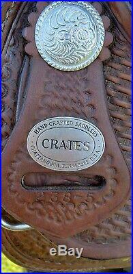 CRATES Western Saddle