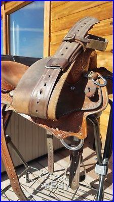 Cactus saddlery Charmayne James Record Breaker Barrel Saddle