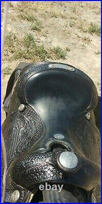 Champion Turf Show Saddle, Excellent Condition