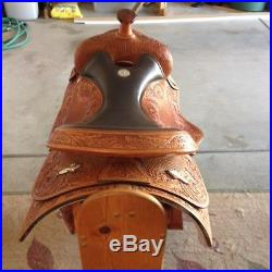 Champion Western Saddle Size 16, Excellent Condition. Show and/or Work Saddle