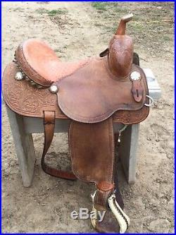 Charmaine james 14 inch cactus barrel racing saddle