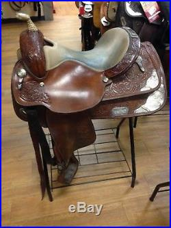 Circle Y 15.5 Western Show Saddle