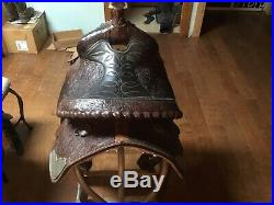 Circle Y 15 Inch Seat, Wide Tree Park And Trail Saddle Read Description