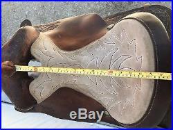 Circle Y 16 Western saddle FQHB