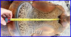 Circle Y 16in Roping Saddle