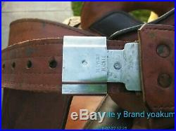 Circle Y Brand Park And Trail All Leather Pleasure Western Saddle 16