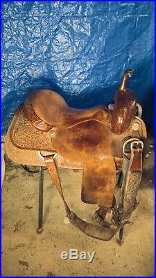 Circle Y Cutting Saddle 16