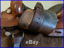 Circle Y Cutting and Reining saddle- 16 package- WOW