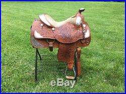 Circle Y Equitation Show Saddle 15.5 Used