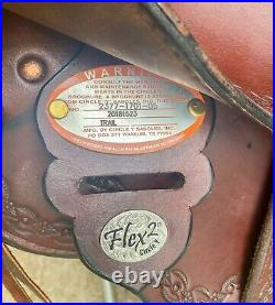 Circle Y Flex Fit 2 Topeka Trail Saddle slightly used