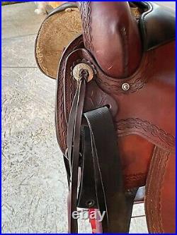 Circle Y Flex-Lite Park and Trail Equestrian Western Saddle 16 Super Comfy