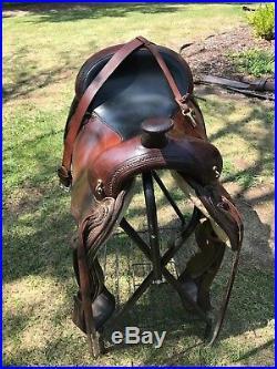 Circle Y Flex Saddle Topeka 16