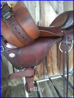 Circle Y Flex-lite Flagstaff Trail Saddle, 16 Wide Tree
