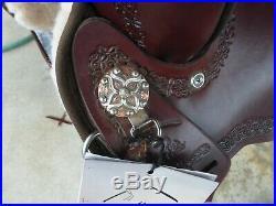 Circle Y High Horse Daisetta Trail Saddle 15 Wide 7 gullet