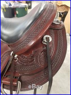 Circle Y Julie Goodnight Teton Saddle #1760 NWT