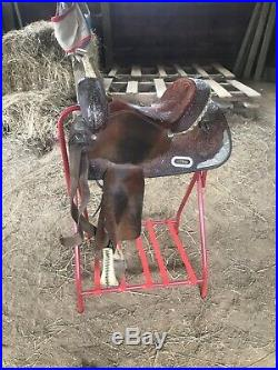 Circle Y Martha Josey Collection Barrel Saddle 14