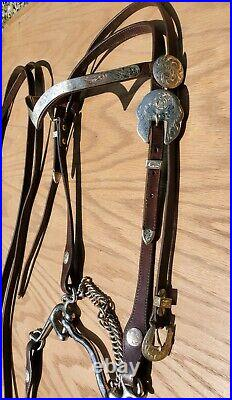 Circle Y Pleasure Equitation Show 15 Saddle with Headstall & Breastcollar Set