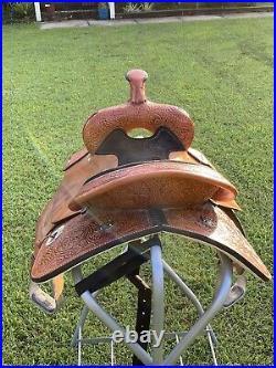 Circle Y Proven Mansfield Barrel Saddle