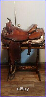 Circle Y Reining Saddle