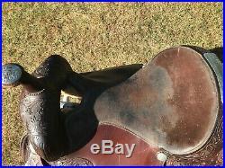 Circle Y Saddle 16 Equatation