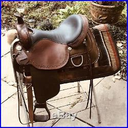 Circle Y Saddle 17in