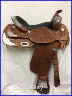 Circle Y Used 16 Western Show Saddle Full Quarter Horse Bar #3679-2607-1003