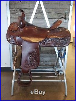 Circle Y Western Saddle 16, Dark Oil, Well Loved, Great Condition