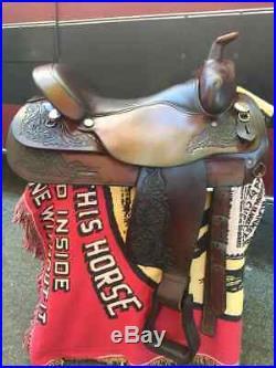 Circle Y Western Saddle 17