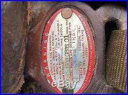 Circle Y Western Show saddle 15