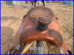 Circle Y western saddle 17 inch