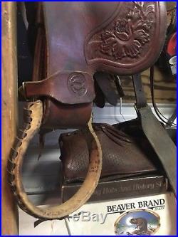 Colorado Saddlery A- fork Wade Western Saddle Highback 16 Seat