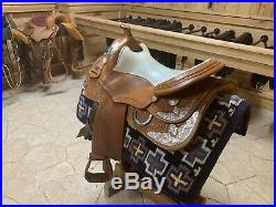 Continental Reining Saddle 16