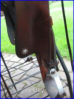 Crates Endurance Saddle #2195, 16 seat, BEAUTIFUL