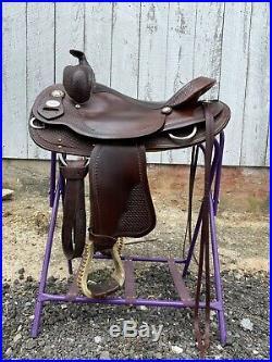 Crates Reining Saddle