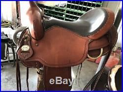Crates Saddle 16 Horse