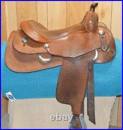 Cumberland Reining Western Cowhorse Saddle 15.5