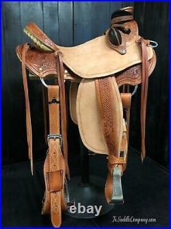 Custom Lady Wade Saddle Ranch/Roping/Training/Trail/Association